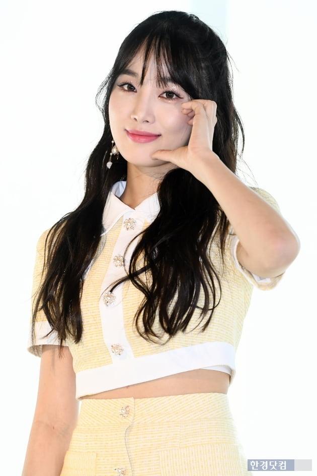 [포토] 네이처 새봄, '귀엽게 얼굴 하트~'