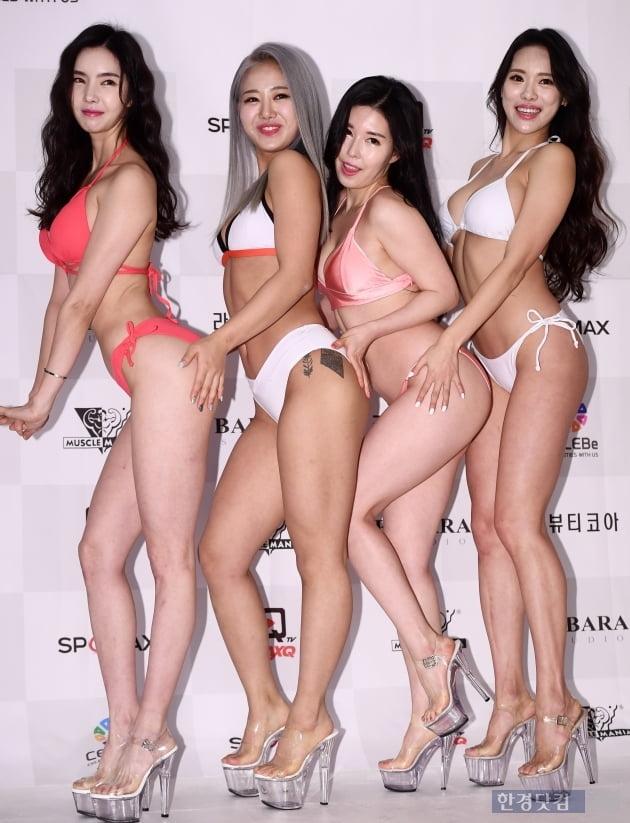 [포토] 배선영-원지민-이윤선-조애라, '우월한 비율에 시선강탈'