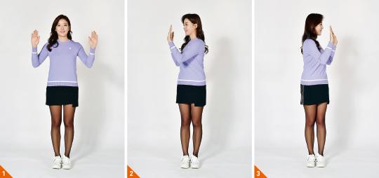 [신나송의 골프 레슨] 몸의 각도가 만드는 '꼬임'을 느껴라