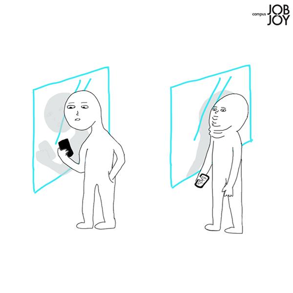 [카드뉴스] 길 가다 거울에 비친 모습을 본 우리.jpg