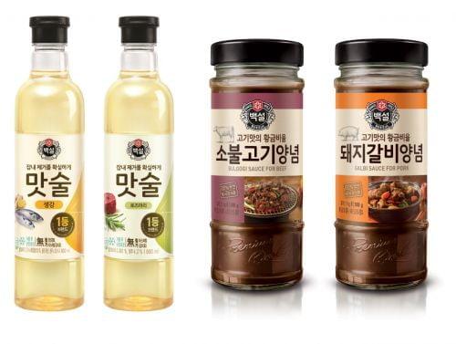 CJ제일제당,  설 명절'백설 맛술''백설 고기양념장' 마케팅 강화
