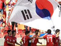 지난 12일 2010 남아공 월드컵 <한국 : 그리스>전...