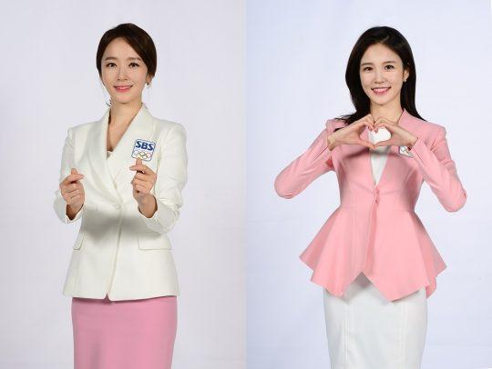 박선영 아나운서-장예원 아나운서/ 사진제공=SBS
