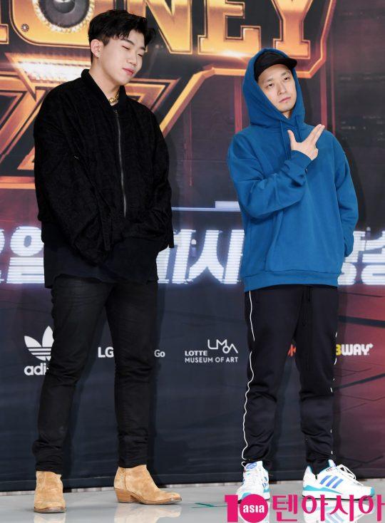 래퍼 창모(왼쪽), 더콰이엇. / 텐아시아DB