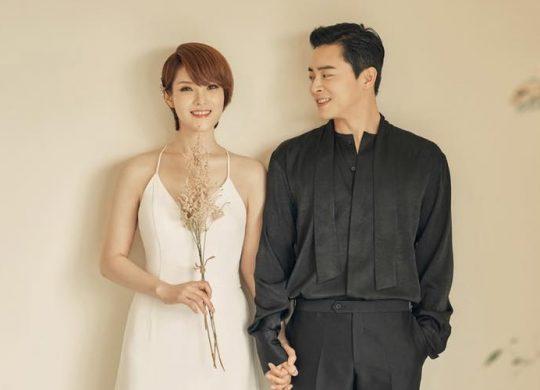 가수 거미(왼쪽), 배우 조정석. / 제공=씨제스엔터테인먼트, JS컴퍼니