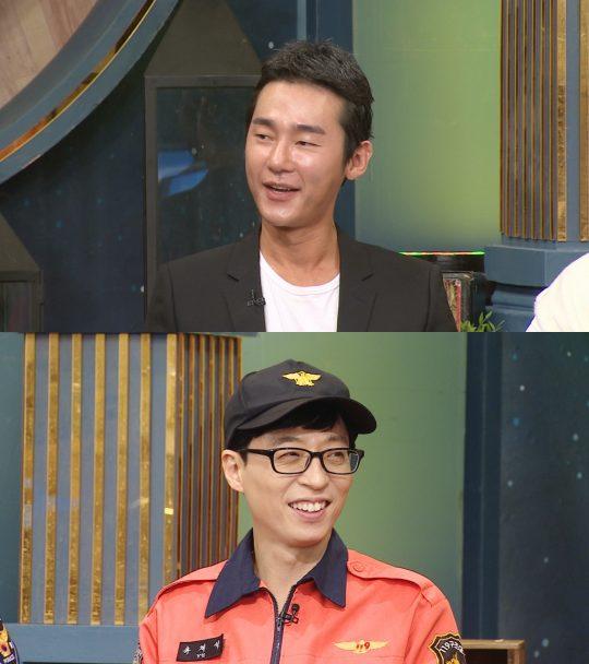 '해피투게더4'의 허지웅(위), 유재석./사진제공=KBS2
