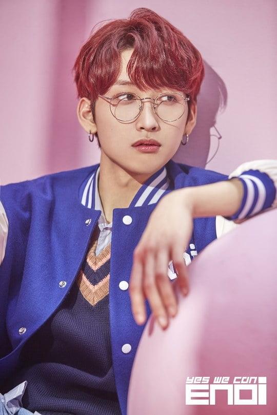 이엔오아이, Red in the Apple 하민 콘셉트 포토 공개 (사진=키더웨일컴퍼니)