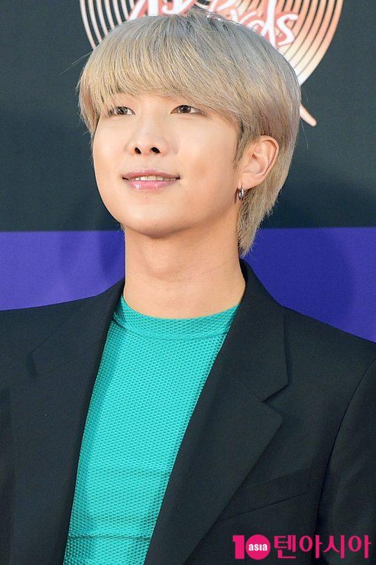 그룹 방탄소년단의 RM. / 서예진 기자 yejin@