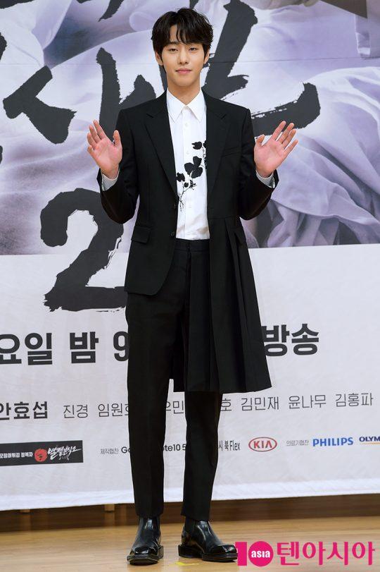 배우 안효섭이 6일 오후 서울 목동 SBS홀에서 열린 '낭만닥터 김사부2' 제작발표회에 참석했다. /서예진 기자 yejin@