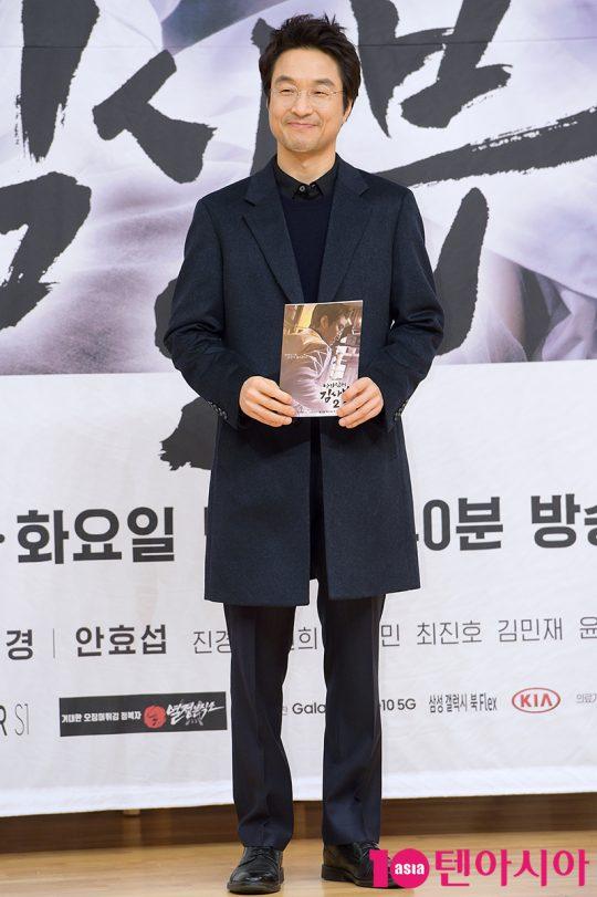 배우 한석규가 6일 오후 서울 목동 SBS홀에서 열린 '낭만닥터 김사부2' 제작발표회에 참석했다. /서예진 기자 yejin@