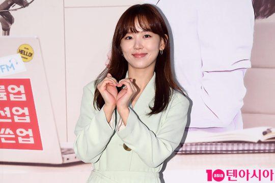 배우 강한나가 6일 오후 서울 여의도 KBS 누리동에서 KBS 쿨FM '강한나의 볼륨을 높여요' 간담회에 참석했다. / 이승현 기자 lsh87@