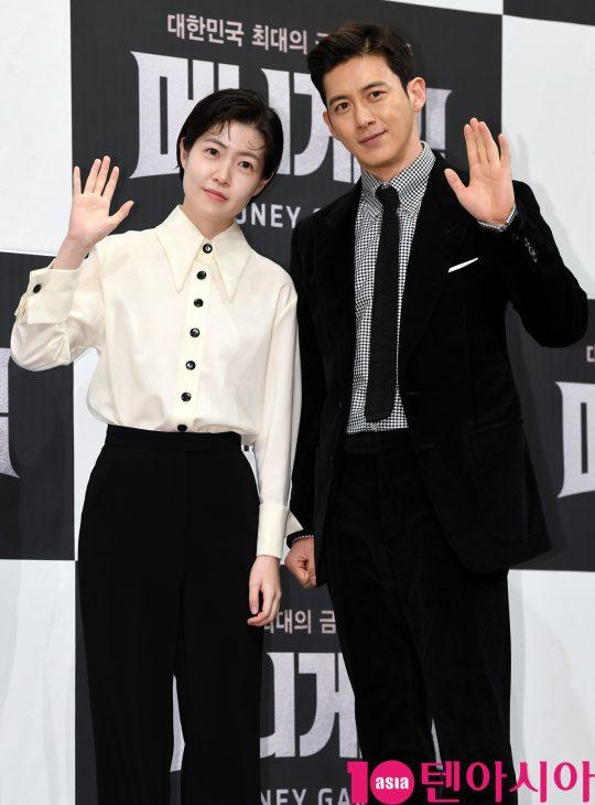 배우 심은경(왼쪽)과 고수./ 조준원 기자 wizard333@