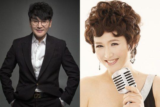 가수 조항조(왼쪽), 김용임./사진제공=MBC에브리원 '나는 트로트 가수다'