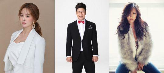 가수 금잔디(왼쪽부터), 박구윤, 박혜신./사진제공=MBC에브리원 '나는 트로트 가수다'