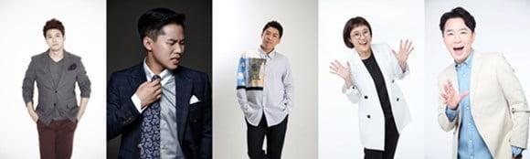전현무, 양세형, 양세찬, 송은이, 붐 (사진= JTBC )