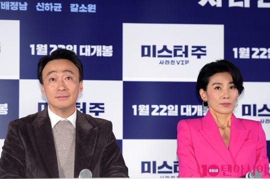 배우 이성민, 김서형