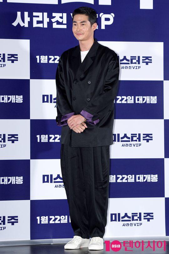영화 '미스터 주: 사라진 VIP'에서 열정과 의욕만 충만한 국가 정보국 요원 만식으로 열연한 배우 배정남./ 서예진 기자 yejin@