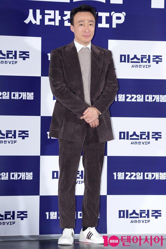 영화 '미스터 주: 사라진 VIP'에서 국가정보국 에이스 요원 주태주를 연기한 배우 이성민./ 서예진 기자 yejin@