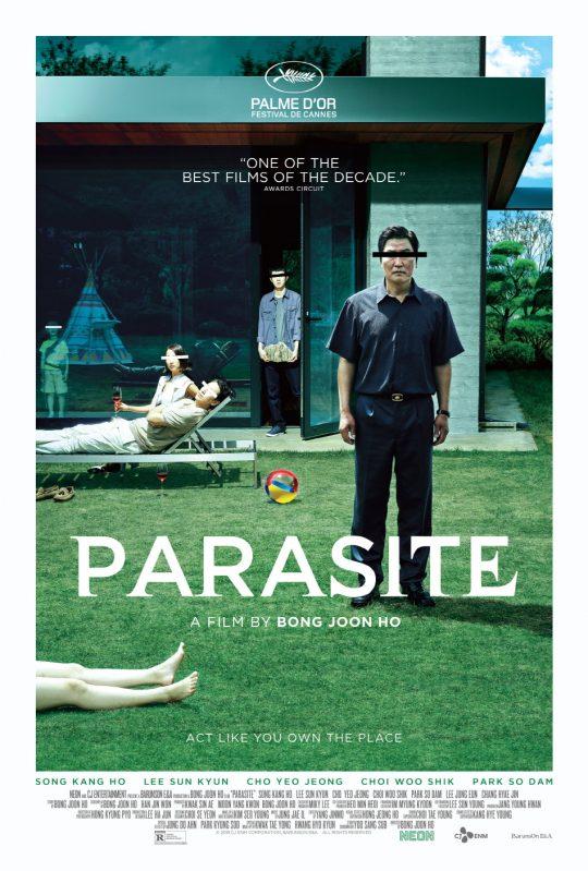 영화 '기생충' 미국 포스터. /제공=CJ엔터테인먼트