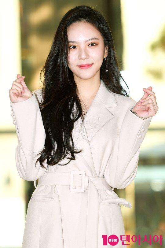 왕을 짝사랑하는 조영지 역의 배우 이열음. /서예진 기자 yejin@