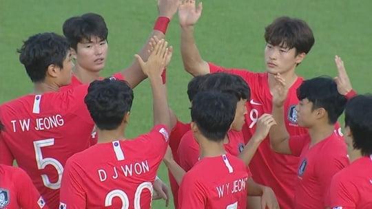 2020 도쿄올림픽 축구 아시아 최종예선 (사진=JTBC)