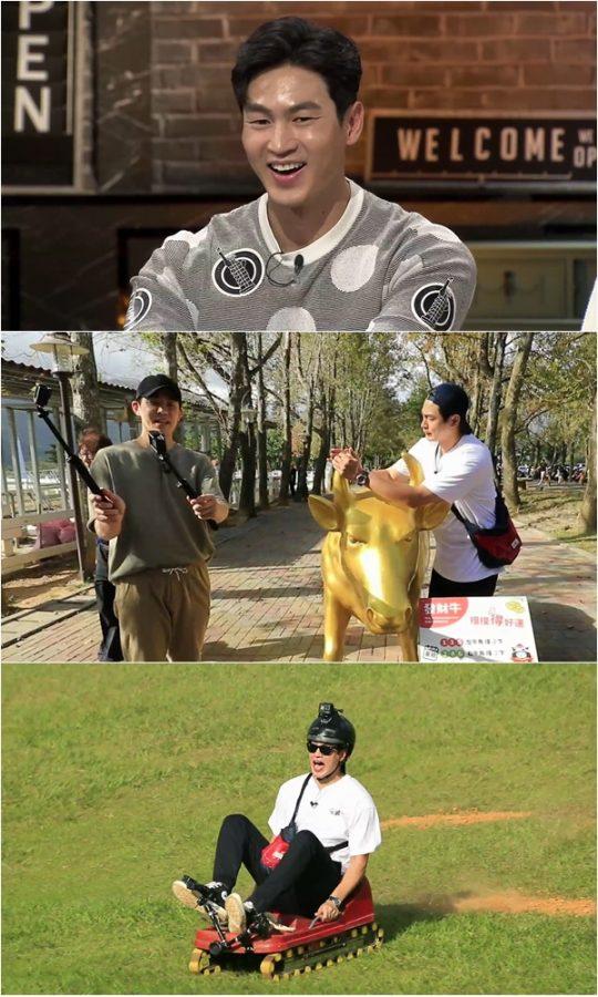 '배틀트립' 김산호·김사권의 타이동 여행. /사진제공=KBS2