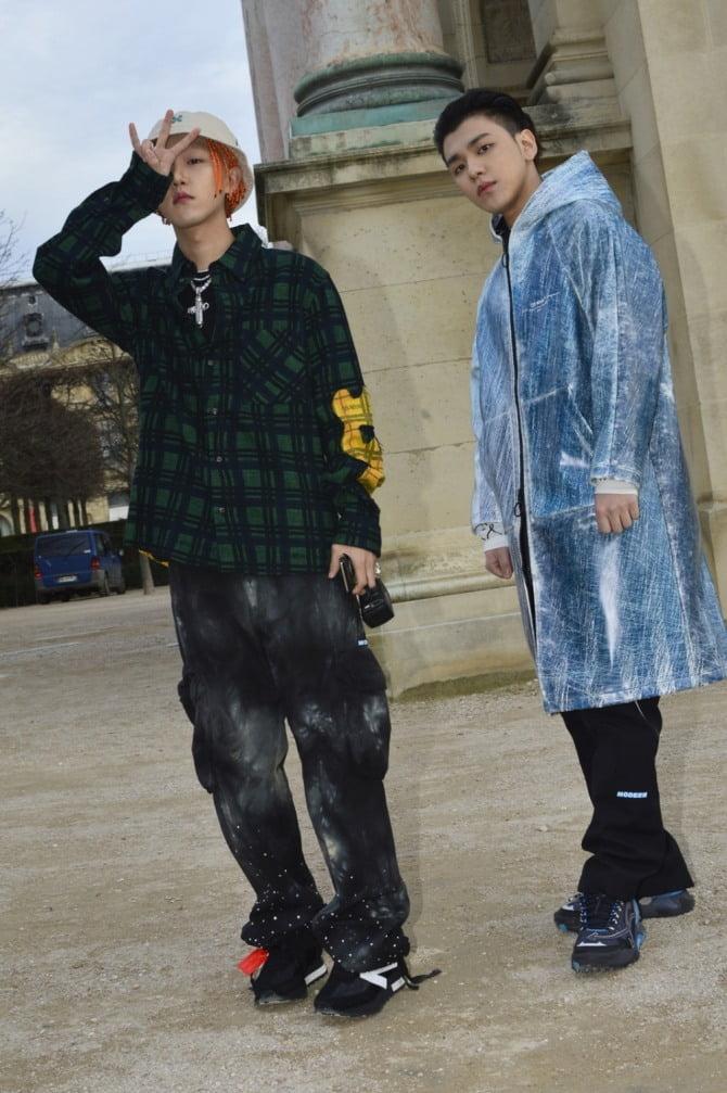 '대세 프로듀싱 듀오' 그루비룸, 패션계도 주목하는 글로벌 핫셀럽 등극