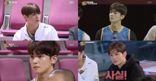 SBS '진짜 농구, 핸섬타이거즈' 방송화면. /사진제공=SBS