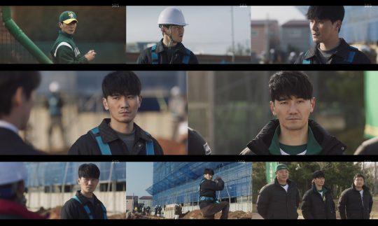 SBS 금토드라마 '스토브리그' 방송화면.