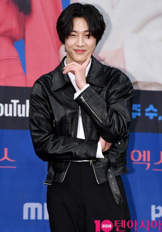 배우 이종원이 20일 오후 서울 상암동 MBC 골든마우스홀에서 열린 MBC 새 드라마 '엑스엑스(XX)' 제작발표회에 참석하고 있다.
