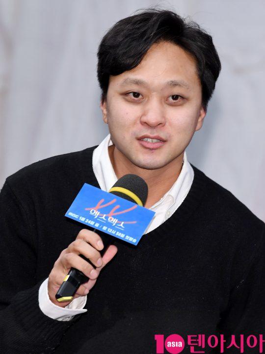 김준모 감독이 20일 오후 서울 상암동 MBC 골든마우스홀에서 열린 MBC 새 드라마 '엑스엑스(XX)' 제작발표회에 참석하고 있다.
