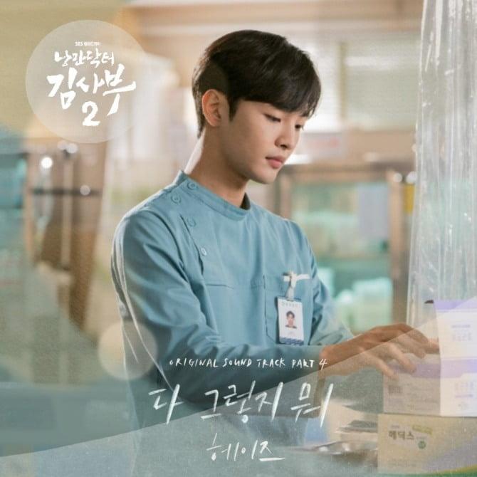헤이즈, '낭만닥터 김사부2' OST 황금 라인업 합류…21일 '다 그렇지 뭐' 발매