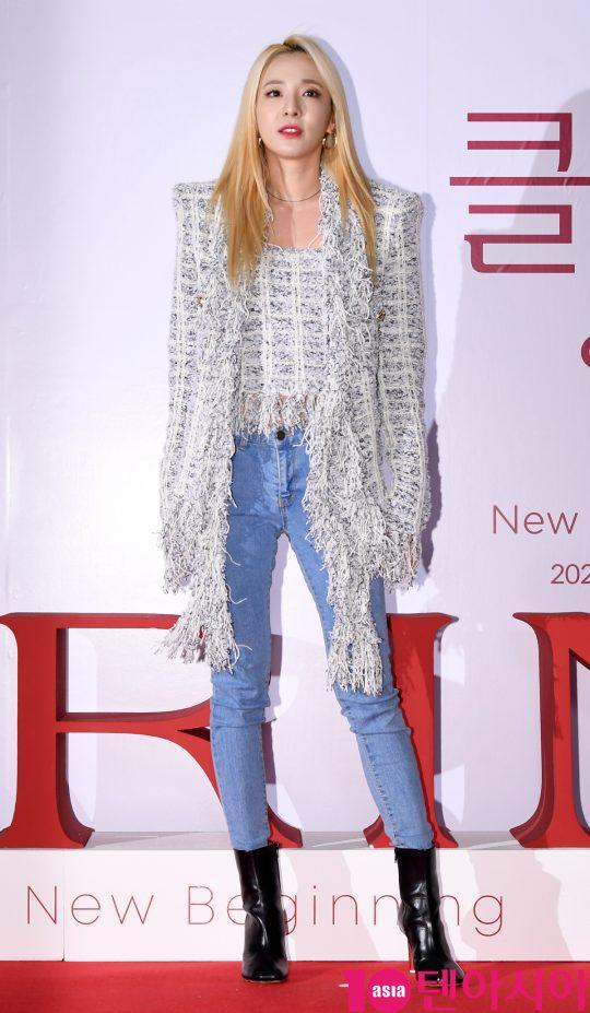 산다라박이 21일 오후 서울 퇴계로 레스케이프 호텔에서 열린 클라랑스(CLARINS) 행사에 참석하고 있다.
