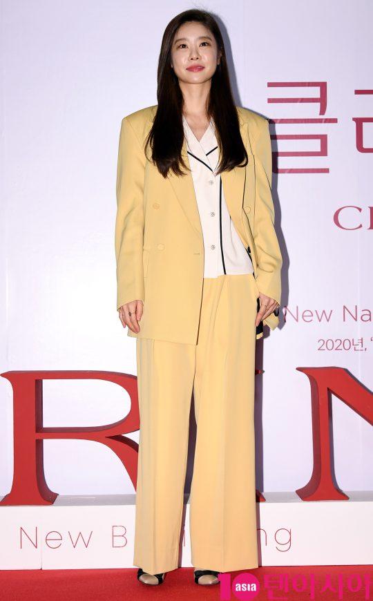 걸스데이 소진이 21일 오후 서울 퇴계로 레스케이프 호텔에서 열린 클라랑스(CLARINS) 행사에 참석하고 있다.