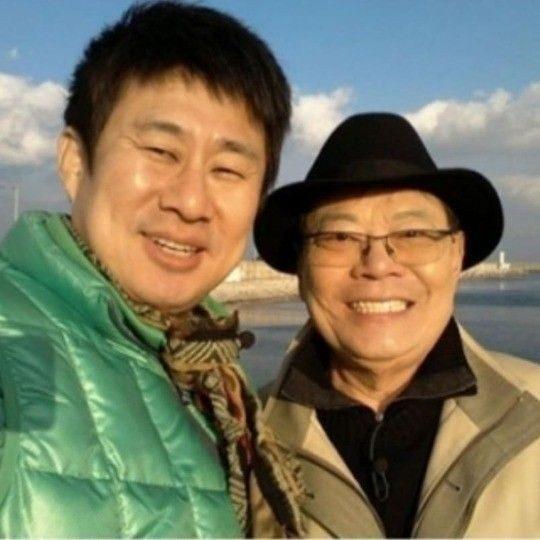 코미디언 남희석(왼쪽)과 고(故) 남보원의 생전 모습. /사진=남희석 인스타그램