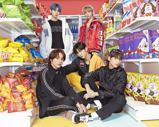 그룹 투모로우바이투게더의 일본 데뷔 싱글 'MAGIC HOUR' / 사진제공= 빅히트엔터테인먼트