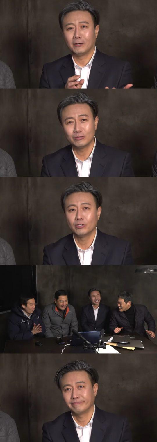 유튜브 채널 가로세로연구소에 출연한 배우 안정훈. /사진=유튜브 영상 캡처