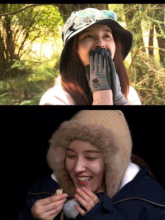 '정글의 법칙' 모모랜드 낸시. /사진제공=SBS