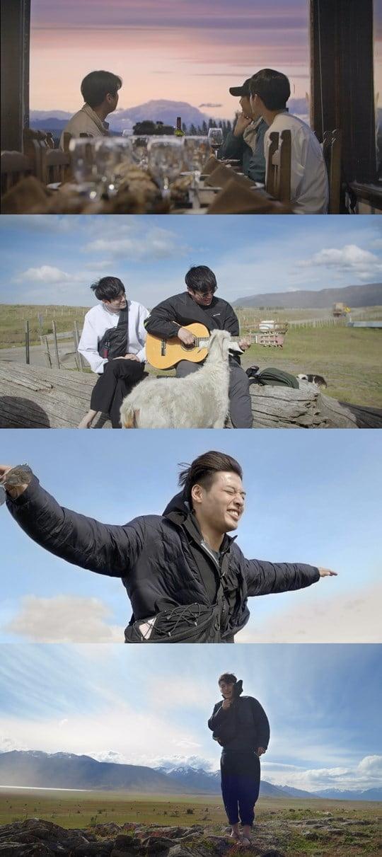 '트래블러-아르헨티나' 강하늘-안재홍-옹성우 (사진= JTBC 제공)