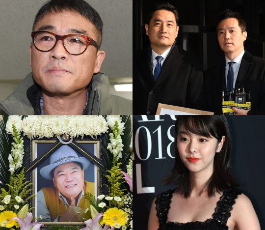 [TEN 와글와글] 김건모 성희롱 의혹·장지연 사생활 루머·카라타 에리카 불륜