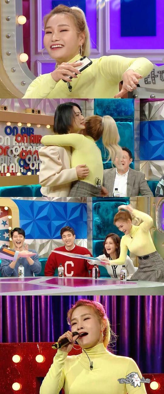 '라디오스타'의 손승연./사진제공=MBC
