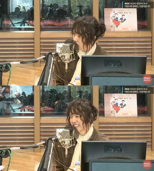 MBC 표준FM '여성시대 양희은, 서경석입니다' 보이는 라디오 방송화면. /사진제공=MBC