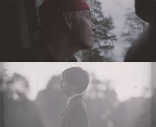 방탄소년단 뷔 '윈터 베어' 뮤직비디오 캡처.
