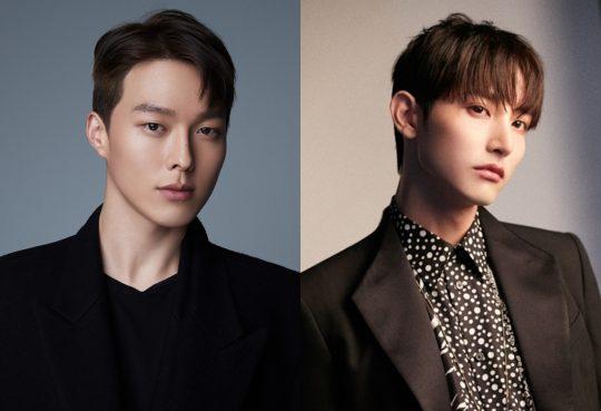 KBS2 '본 어게인'에 캐스팅 된 배우 장기용(왼쪽)과 이수혁 / 사진제공=YG엔터테인먼트