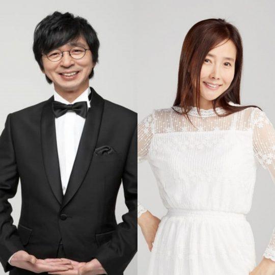 '자연스럽게' 김국진-강수지./ 사진제공=라인엔터테인먼트, NOH엔터인먼트)