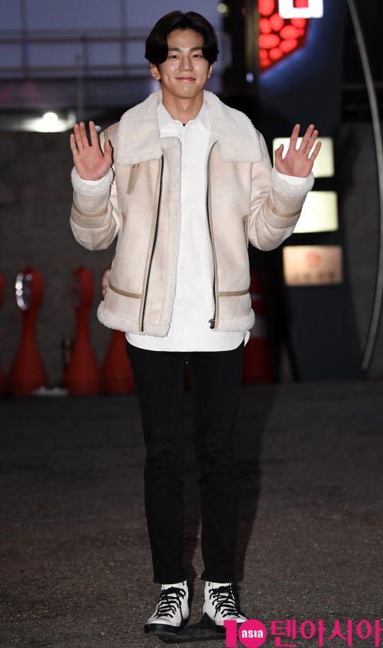 배우 김민규가 30일 오후 서울 여의도 한 음식점에서 열린 TV CHOSUN 특별기획드라마 '간택-여인들의 전쟁' 종방연에 참석하고 있다.
