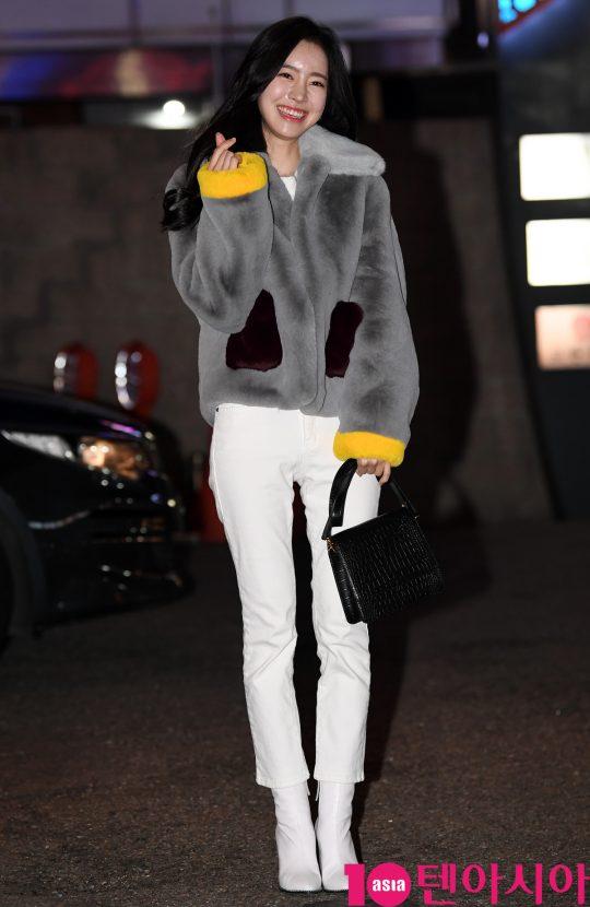 배우 진세연이 30일 오후 서울 여의도 한 음식점에서 열린 TV CHOSUN 특별기획드라마 '간택-여인들의 전쟁' 종방연에 참석하고 있다.
