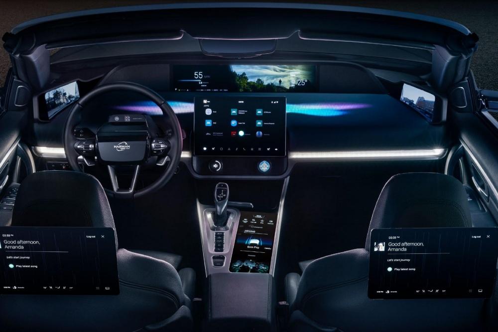 [CES]하만, 운전 경험 높이는 신기술 선봬