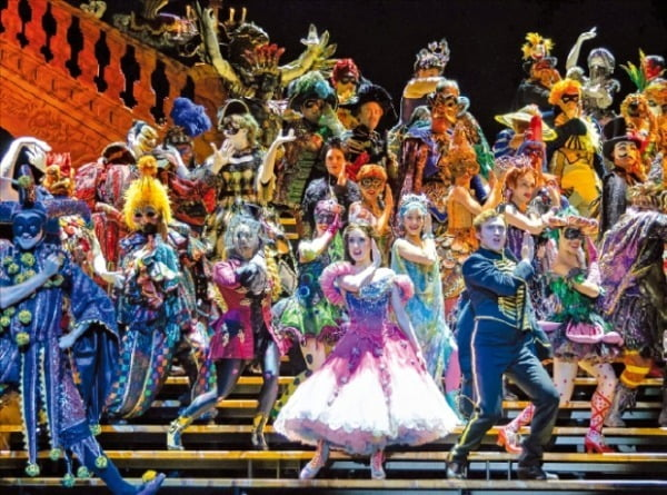 오는 3월 서울 블루스퀘어 인터파크홀에서 개막하는 뮤지컬 '오페라의 유령'.  클립서비스 제공