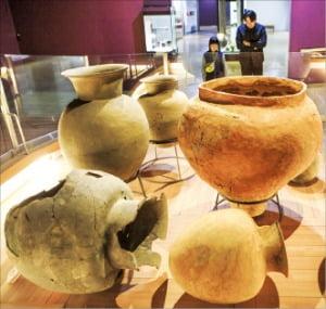 가야시대 유물을 볼 수 있는 국립김해박물관